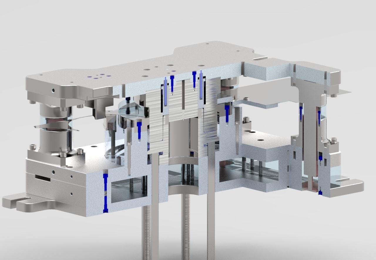 Precision Engineering | Toolmaker | Gold Coast | Camtech Engineering Pty Ltd | Sample Press Tool Min
